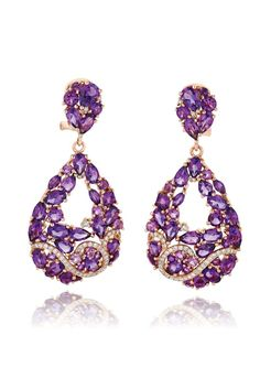 Earrings from LeVian's Mixed Berry Collection.