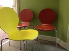 Arne Jacobsen style Seven chair mid century by pomfretmidcentury, $75.61