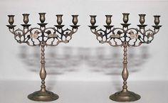 Italian Renaissance accessories candelabra bronze
