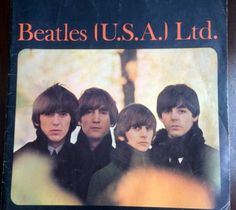 Beatles Fan Book Tour Guide 1965