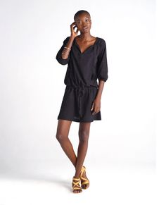 Indus Tunic Dress by Sitting Pretty. Made in Cape Town, South Africa. Fair Trade Clothing, Sustainable Fashion, Boho Chic, Cold Shoulder Dress, Shirt Dress, Womens Fashion, Pretty, Casual, Tunic