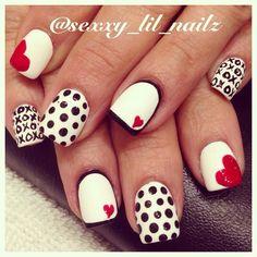 VALENTINE by sexxy_lil_nailz  #nail #nails #nailart
