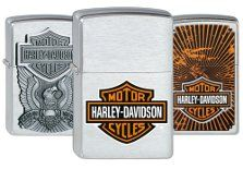 Harley-Davidson Zippos