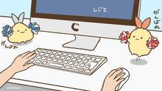 しっぽ2匹に応援されながら仕事したい#すみっコイラスト部pic.twitter.com/zydTh6LlRM Soft Wallpaper, Kawaii Wallpaper, Sumiko Gurashi, Molang, Cute Stickers, Sanrio, Cute Babies, Nerdy, Pokemon