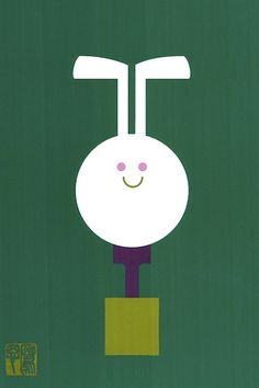 Deska Inc, Tokyo. 2011, Year of the Rabbit. Original design by Takashi KONO (1987).