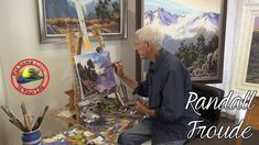 Oil painting techniques and tutorial for beginners or artists of all ages and skills. In this fine art TV show episode Randall Froude is interviewed with Col. Painting Techniques Art, Painting Videos, Painting Lessons, Painting Tricks, How To Draw Anime Hair, Character Design Animation, Learn To Paint, Landscape Paintings, Landscapes