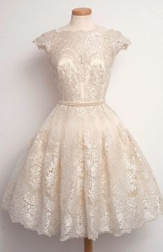 Charming Prom Dress,Lace Prom Dress,Cap Sleeve Prom Dress,Short Prom Dress,Homecoming Dress