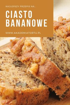Healthy Cake, Healthy Desserts, Healthy Recipes, Sweet Recipes, Cake Recipes, Banana Bread, Food And Drink, Tasty, Cooking