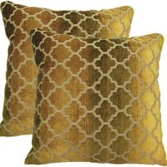 Gold pillows can also be incoperated to tie in the gold from the reading lamp