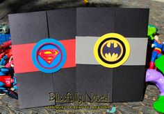 30 Superman Birthday Invitations & Decor by BlissfullyNoted