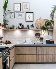 63 ideas modern rustic kitchen colors for 2019 Industrial Kitchen Design, Rustic Kitchen, Kitchen Interior, New Kitchen, Coastal Interior, Eclectic Kitchen, Kitchen Grey, Design Kitchen, Kitchen Themes
