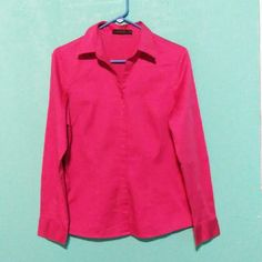 Dress shirt Dress shirt size M stretchy fabric 97% cotton and 3% spandex great condition The Limited Tops Button Down Shirts