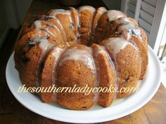 Blueberry Cream Cheese Butter Cake - Copy