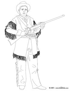 find this pin and more on icolor the old west calamity jane coloring page