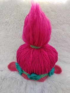 This is a listing for the pattern only of this troll hat. This is NOT a listing for a physical hat itself. This is to look like Poppy the troll. If you have any questions regarding this pattern please contact me and I would be glad to help you out! This is for sizes 0-3 months up to child sized!!!! You ARE able to sell hats from this pattern absolutely. Please credit my shop in your description. Due to this being a digital file download, no refunds will be given once you have purchased this…
