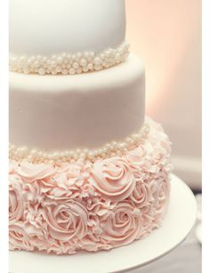 Le wedding cake poudré