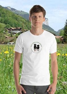 4e8ead03f Items similar to Rottweiler Bros Official Club Member Rottweiler Lovers  Shirt Mens on Etsy