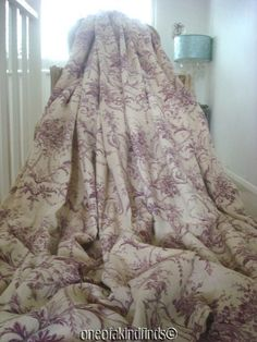 LAURA ASHLEY CURTAINS SILK BLENHEIM shabby cottage chic