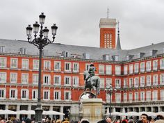 La Plaza Mayor de Madid