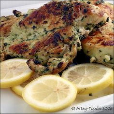 Cilantro Thai Chicken with Lemon. Use reduced sodium soy sauce. A great recipe with only 4 ingredients.