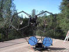 """Bruce Sayre 22"""" binocular telescope"""