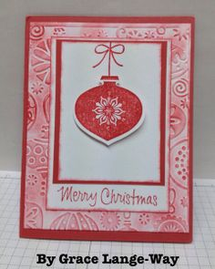 Christmas Cards from Friends, Stampin' Up!, stampwithbrian.com, by Grace Lange-Way