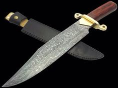 CUSTOM HANDMADE FORGED DAMASCUS BOWIE FOR ORDER: bhrcuttlery2015@gmail.com  bilal.anjum@kmatraders.net