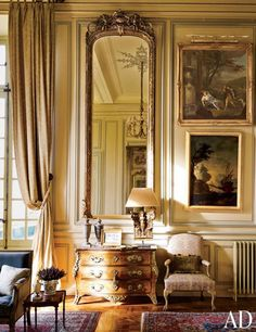 château du grand-lucé, loire valley -- interior design by timothy corrigan -- photo by eric piasecki -- ad