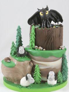 Dragon Cake Torte Ohne Zahn Toothless