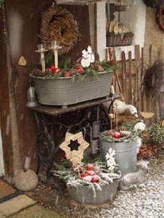 u morkusovic Ladder Decor, Primitive, How To Make, Christmas, Home Decor, Xmas, Fir Tree, Winter, Autumn