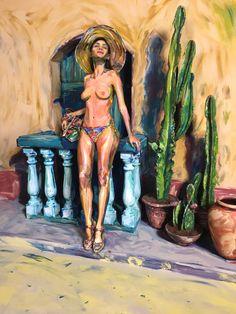 2D Painting  Alexa Meade for Desigual Barcelona, Spain http://www.alexameade.com/