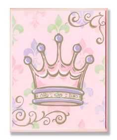 Rosenberry Rooms has everything imaginable for your child's room! Share the news and get $20 Off  your purchase! (*Minimum purchase required.) Pink Crown Wall Plaque
