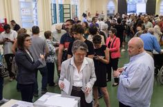 People cast their votes at a polling station on September 27, 2015 in Barcelona, Catalonia. The main Catalanist parties, Catalan Democratic Convergence 'Convergencia Democratica de Catalunya' party (CDC), Republican Leftist of Catalonia 'Esquerra Republicana de Catalunya' party (ERC) and a group of social associations have joined together to form a Catalan pro-independence coalition 'Junts pel Si' (Together for the Yes).