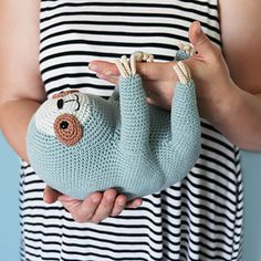 Ravelry: Ollie The Sloth pattern by Irene Strange