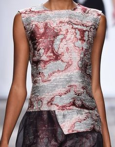 patternprints journal: PRINTS, PATTERNS AND SURFACES FROM LONDON FASHION WEEK (WOMAN COLLECTIONS SPRING/SUMMER 2015) / Michael Van Der Ham