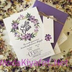 Elissa Boutique Invitation Card - ELS 735 www. Lavender Wedding Invitations, Wedding Koozies, Wedding Napkins, Wedding Invitation Cards, Wedding Cards, Wedding Gifts, Wedding Planner Book, Wedding Book, Wedding Anniversary Gifts