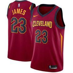 d830ff82f837 Nike Cavaliers #23 LeBron James Red Stitched NBA Swingman Jersey Street  Basketball, Buy Basketball