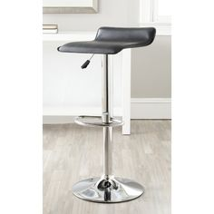 Safavieh Sheba Adjustable Height Swivel 22.4-30.7-inch Adjustable Bar Stool
