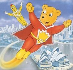 Anyone remember Super Ted. There were 37 episodes from 1982.  He's hidden up in my loft somewhere!