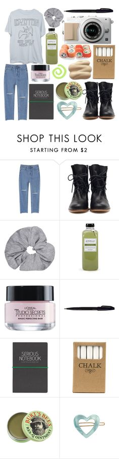 """stairway to heaven"" by paper-towns ❤ liked on Polyvore featuring Archipelago Botanicals, L'Oréal Paris, Pentel, Wild & Wolf, Jayson Home, Burt's Bees and France Luxe"