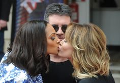 Amanda Holden Alesha Dixon Photos - Alesha Dixon, Simon Cowell and Amanda Holden attend the press launch for the new series of 'Britain's Got Talent' at ICA on April 2013 in London, England. - 'Britain's Got Talent' Press Launch 9 Britain's Got Talent Judges, Talent Show, Amanda Holden, Alisha Dixon, Britain Got Talent, Simon Cowell, Oscar Winners, Tv Presenters