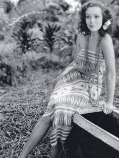 Dolores del Rio, muy muy joven.