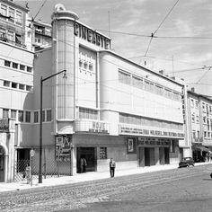 O Cinearte no Largo de Santos em 1960 (Foto: Arnaldo Madureira, Arquivo Municipal de Lisboa)