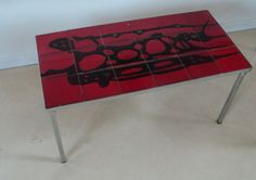 Retro / vintage tiled coffee table seventies by Veryodd on Etsy