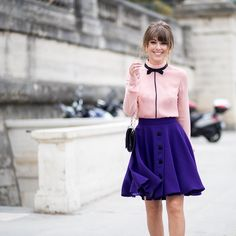 "5,461 kedvelés, 104 hozzászólás – Jenny Cipoletti (@margoandme) Instagram-hozzászólása: ""All smiles for @jeffthibodeauco outside of @carven_paris today 💜💕"""