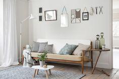 Neutral Scandi Living Room Decor