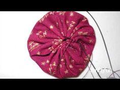 Making Fabric Yo Yos