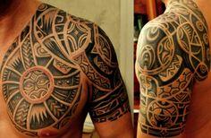 Tattoo-Foto: Maori