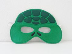 Turtle Felt Mask by JulieMarieKids on Etsy