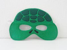 Turtle Felt Mask by JulieMarieKids on Etsy